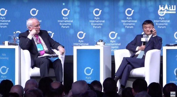 Основатель Alibaba Джек Ма поддержал украинское правительство и признался в любви народу