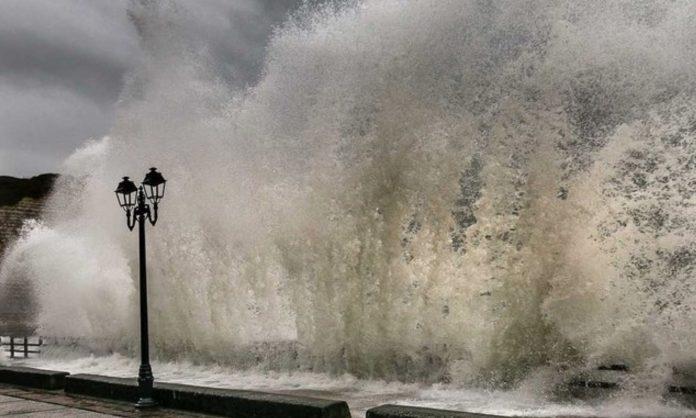 На Бельгию надвигается ураган
