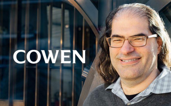 Cowen Bank будет хранить криптовалюту для учреждений и вложит $25 млн в компанию тех. директора Ripple